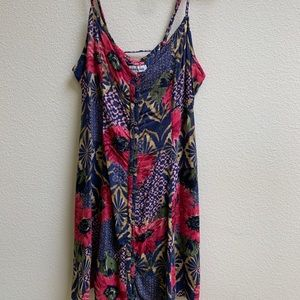 Abercrombie and Fitch floral spaghetti strap dress